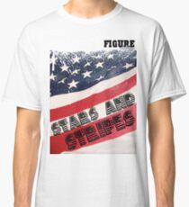 Stars and Strips: Figure Clothing Classic T-Shirt