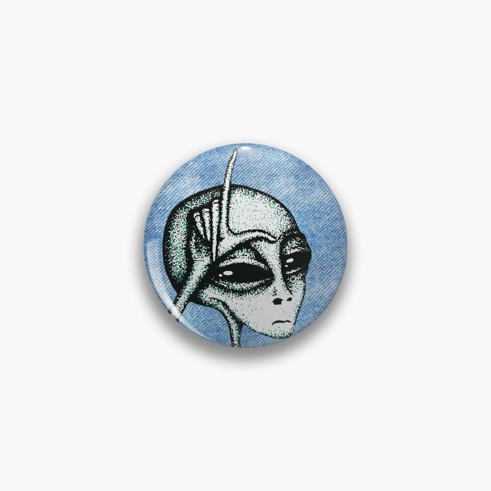 Soft Loser Alien Pin