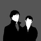 Sherlock and Watson by TardMonkey