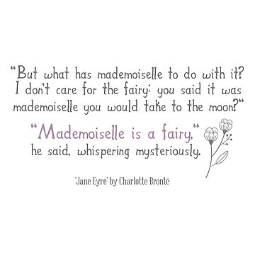Mademoiselle is a fairy by bookishwhimsy