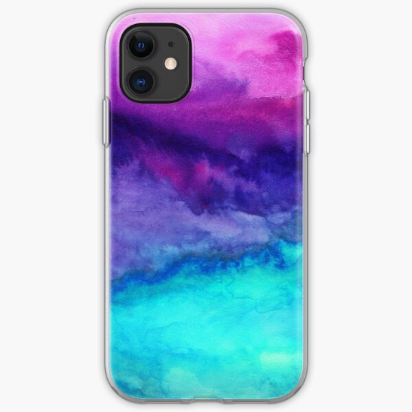 The Sound - Abstract Ombre Watercolor iPhone Soft Case