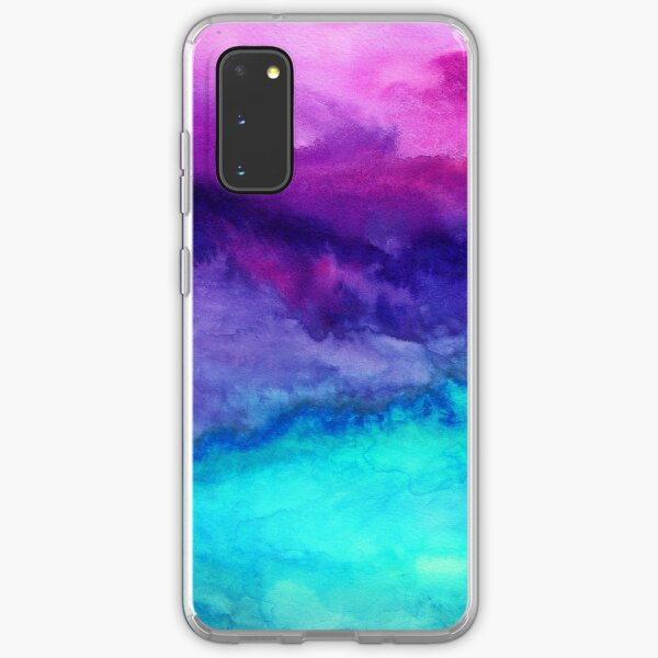 The Sound - Abstract Ombre Watercolor Samsung Galaxy Soft Case