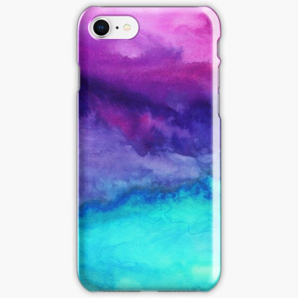 The Sound - Abstract Ombre Watercolor iPhone Snap Case