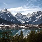 Aachensee and the Alps by Maxim Mayorov