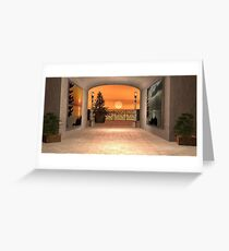 As the sun comes up Greeting Card