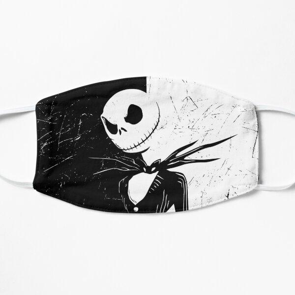 Black and White Jack Flat Mask