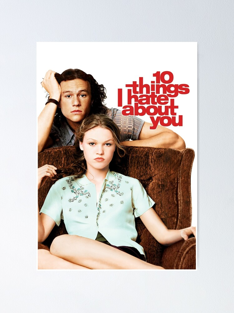 Alternate view of 10 Things I Hate About You Poster