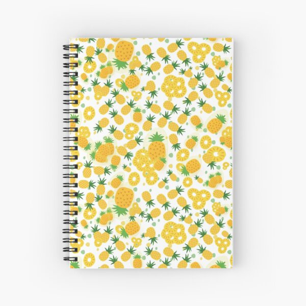Pineapple Party Spiral Notebook
