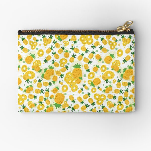 Pineapple Party Zipper Pouch
