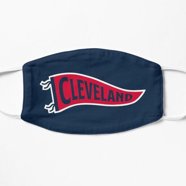 Cleveland Pennant - Blue Flat Mask