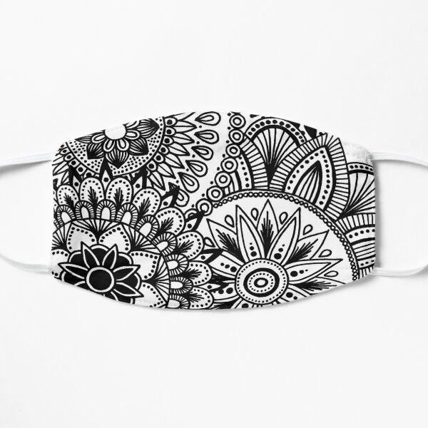 Abstract Mandala Circle Design Flat Mask