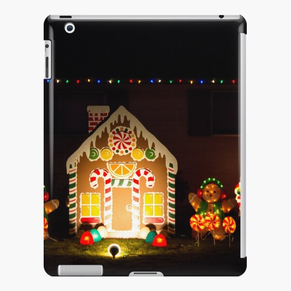 Gingerbread Lawn iPad Snap Case