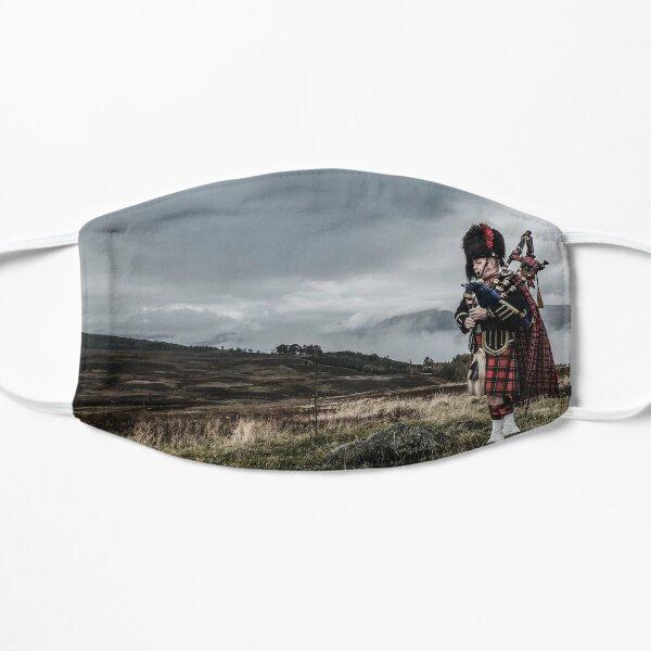 Scottish Piper in Highlands Flat Mask
