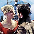 Captain Swan Fairy Tale Watercolor Design 3 by Marianne Paluso