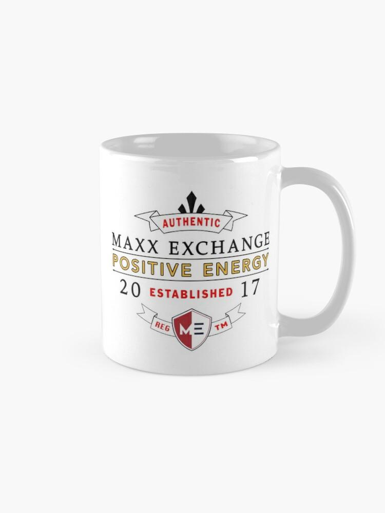 Alternate view of Maxx Exchange Positive Energy Smile Spiritual Motivation. Mug