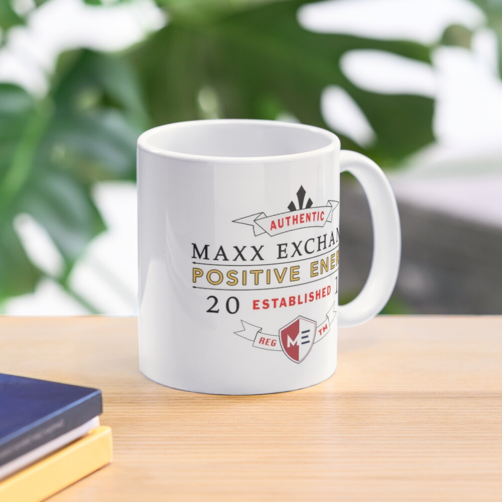 Maxx Exchange Positive Energy Smile Spiritual Motivation. Mug