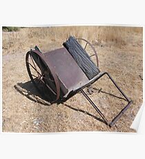 The old handcart Poster