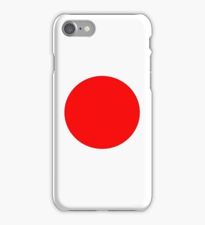 Japanese flag iPhone Case/Skin