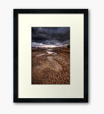 Following Storm Framed Print