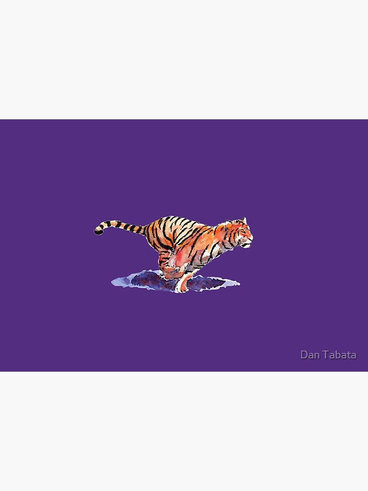 The Tiger - purple version by dmtab