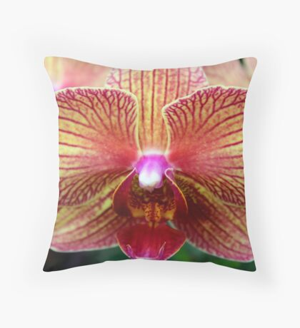 Orchid 33 Throw Pillow