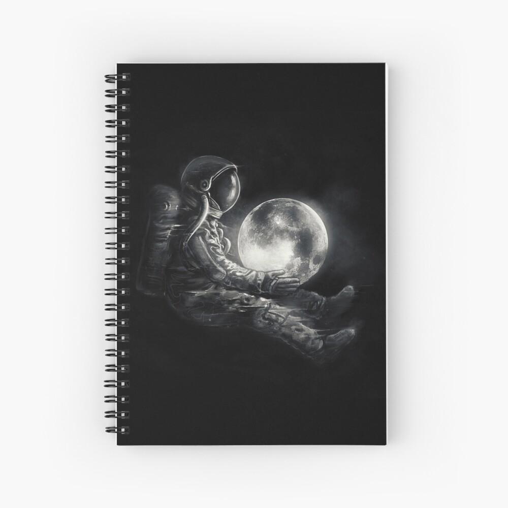 Moon Play Spiral Notebook