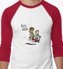 Roy and Moss Men's Baseball ¾ T-Shirt