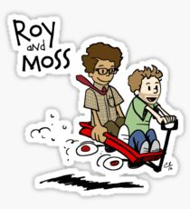 Roy and Moss Sticker