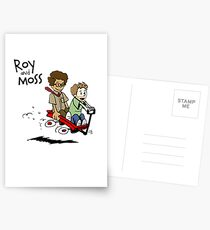 Roy and Moss Postcards