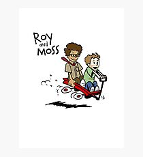 Roy and Moss Photographic Print