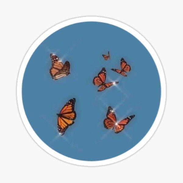 Butterfly Aesthetic Sticker