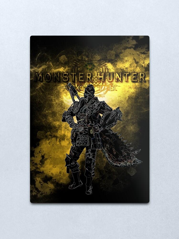 Alternate view of Great sword awakening Metal Print