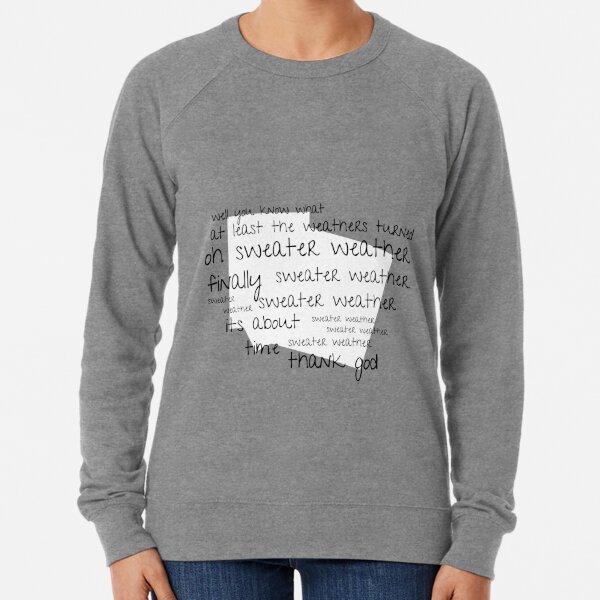 Autumn sweaters Sweater Weather Women/'s Hand Lettered Hoodie  Sweater weather hoodies Women/'s hoody Women/'s Graphic Tee Fall hoodies