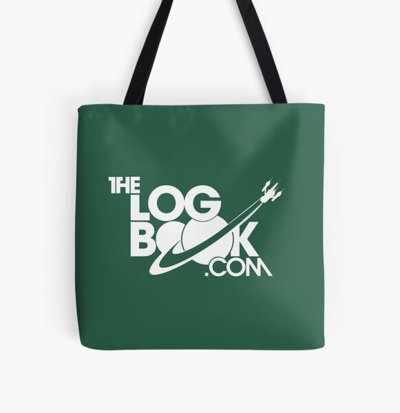 theLogBook.com New Logo in white - spacial edition All Over Print Tote Bag