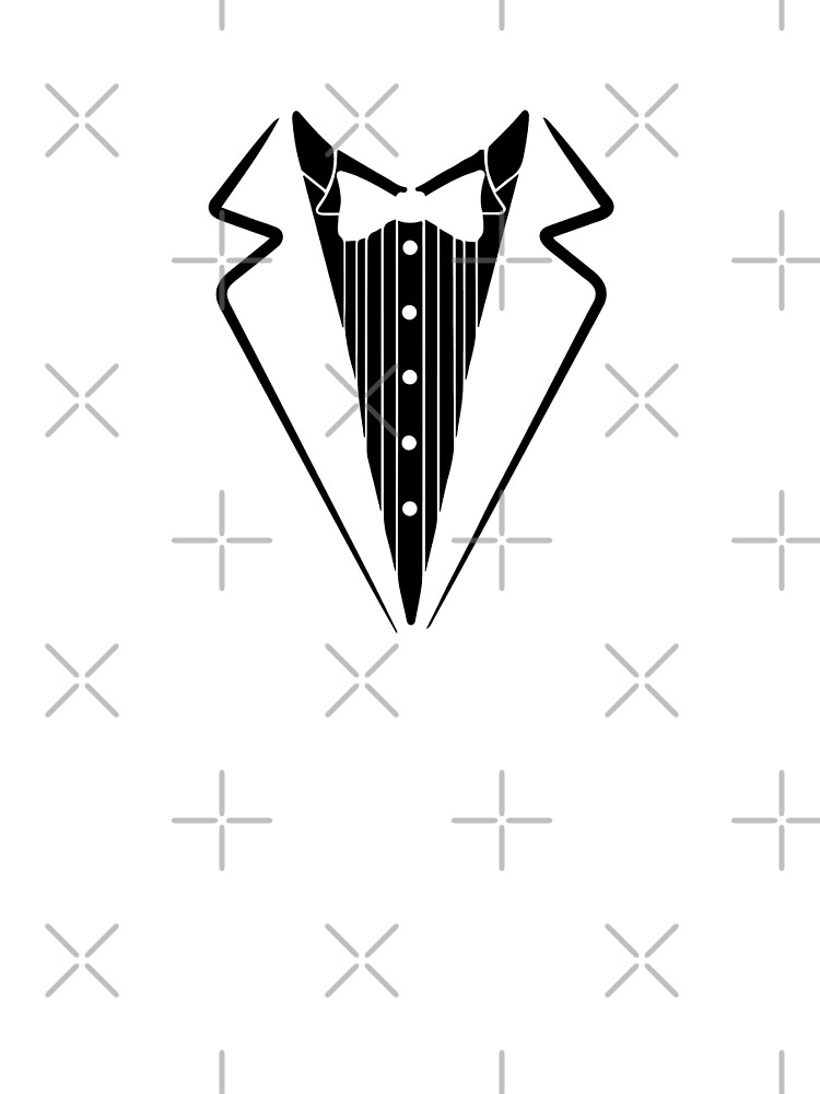 Fake Bow Tie, Tuxedo T-shirt by lolotees