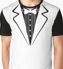 Gefälschte Fliege, Smoking T-Shirt Grafik T-Shirt