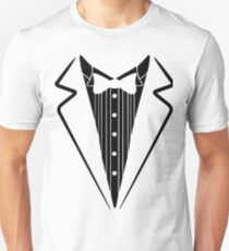 Fake Bow Tie, Tuxedo T-shirt T-Shirt
