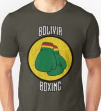 Bolivia Boxing Unisex T-Shirt