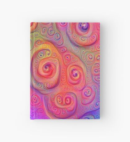 DeepDream Tomato Steelblue 5x5K v2 Hardcover Journal