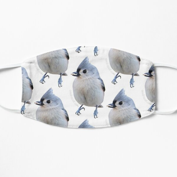 Titmouse flock face mask Mask