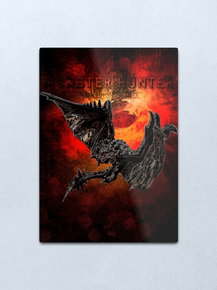 Alternate view of Fire Drake Awakening Metal Print