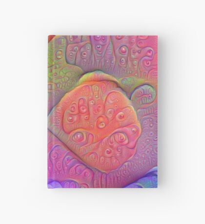 DeepDream Tomato Steelblue 5K v1 Hardcover Journal
