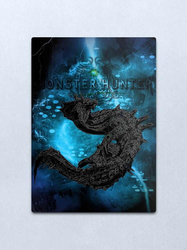 Alternate view of Thunder Drake Awakening Metal Print