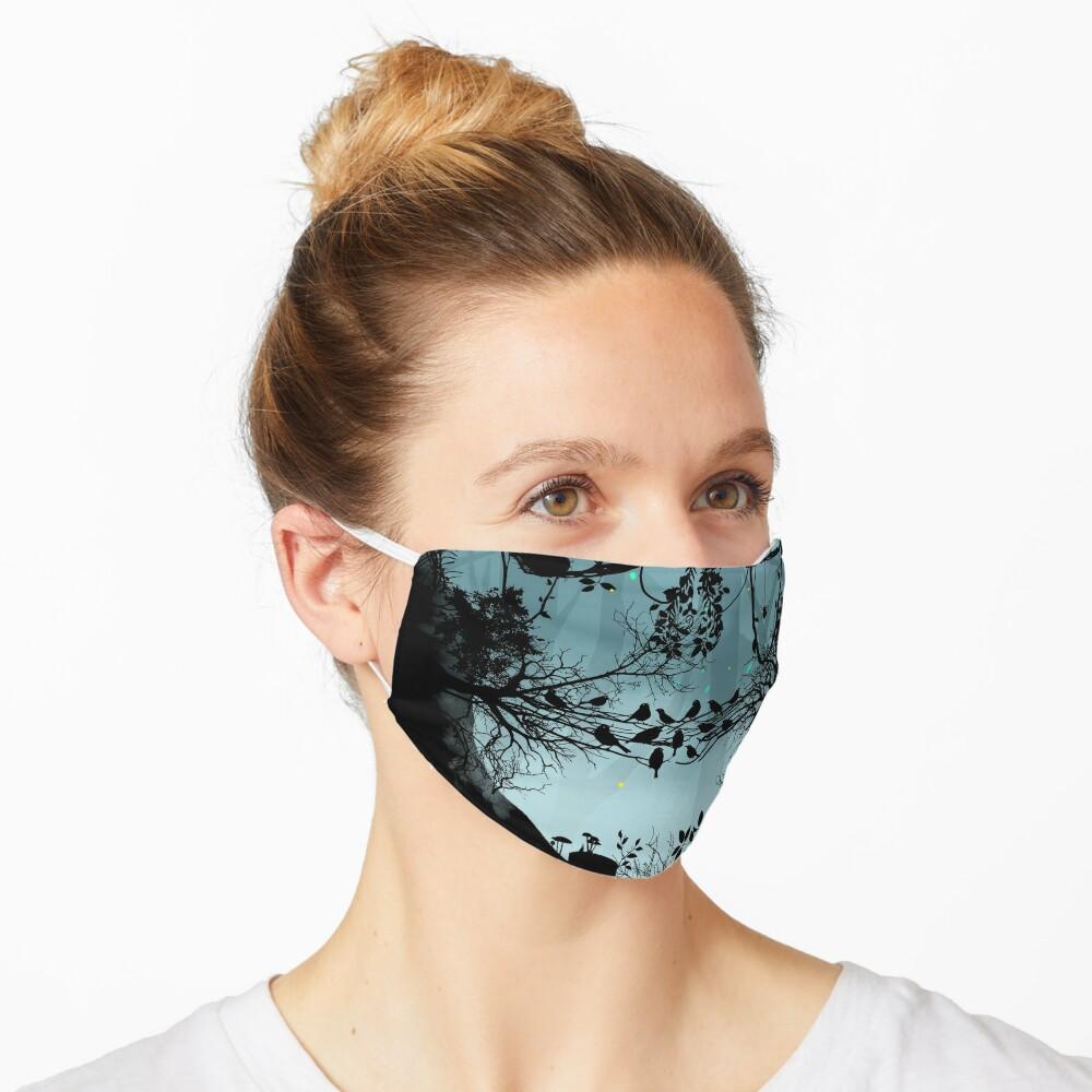 Dark Forest Skull Mask
