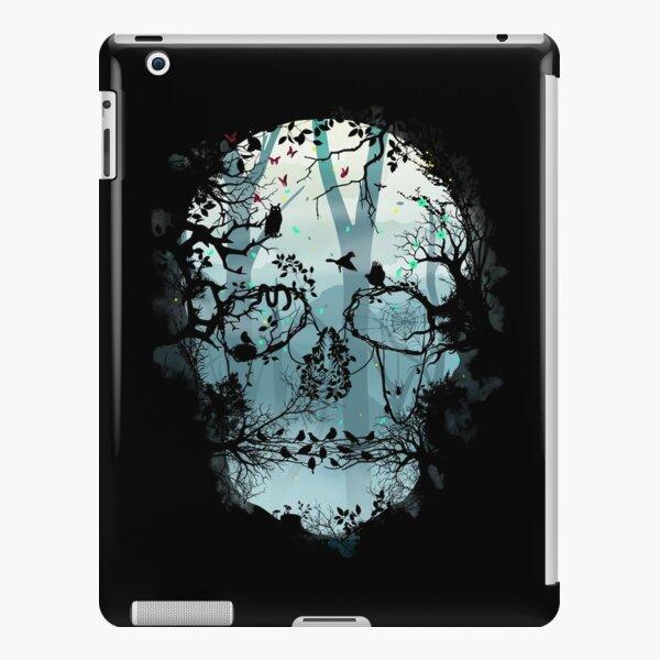Dark Forest Skull iPad Snap Case
