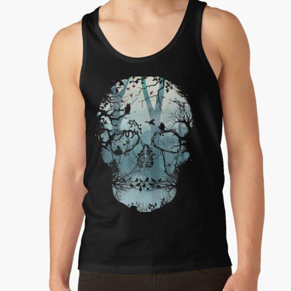 Dark Forest Skull Tank Top