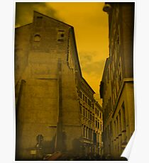 Florence streets Poster
