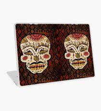 'Sweet Sugar Skull #2' Laptop Skin