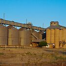 Grong Grong Grain Silos by Tim Pruyn