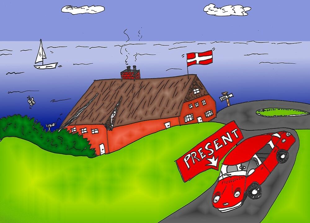 Binary Options News Cartoon Danish Real Estate by Binary-Options